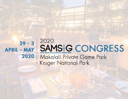 RSSA: SAMSIG 2020 Congress - CANCELLED Due to COVID image