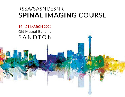 SAVE THE DATE - RSSA | SASNI | ESNR Spinal Imaging Course image