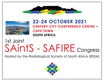 Joint SAintS - SAFIRE Congress 22 - 24 OCTOBER 2021 image